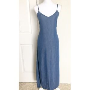 GAP Denim Maxi Dress / Sz M